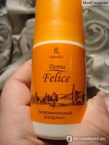 Дезодорант Faberlic Парфюмированный дезодорант для женщин Donna Felice фото