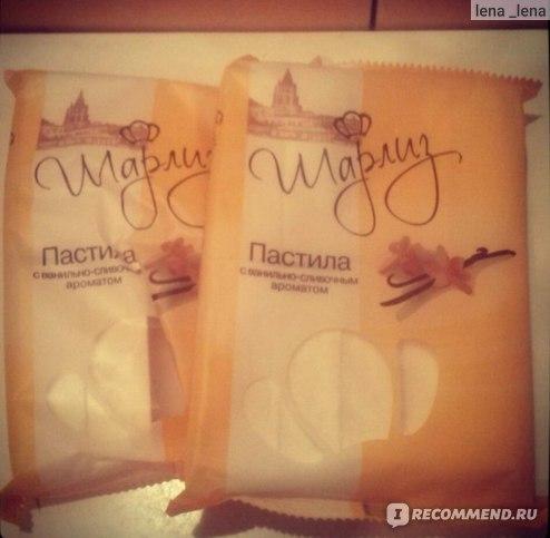 Пастила  Шарлиз с ванильно-сливочным ароматом  фото