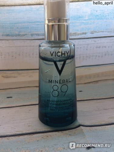 Сыворотка для лица Vichy Mineral 89 Fortifying Hydrating and Plumping Daily Booster фото