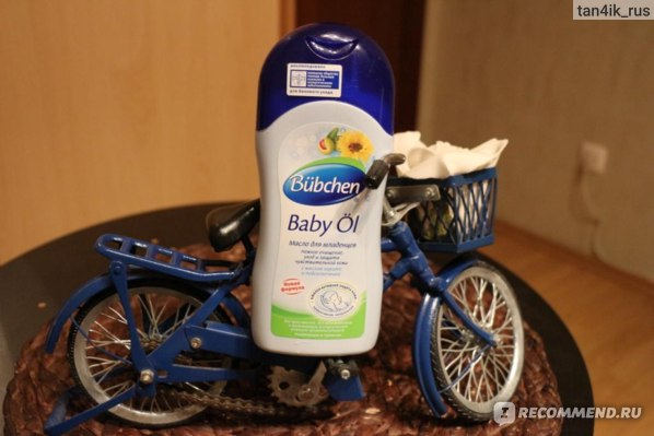Масло для младенцев Bubchen Baby Ol с маслом карите и подсолнечника фото