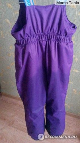 мокрые штаны - вид сзади