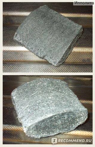 Мыльные, стальные мочалки Siral Spiro Pads Мочалка от нагара на посуде фото