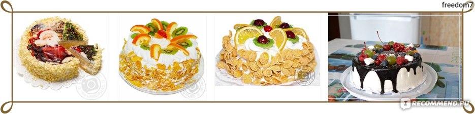 торт novus