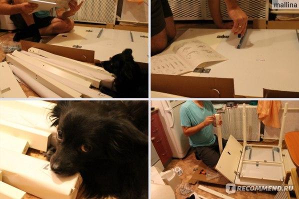 Процесс сборки, следуем строго по инструкции!