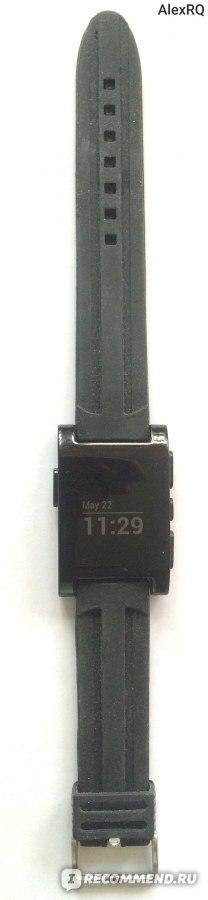 Ремешок для часов Pebble силиконовый Aliexpress Silicone Watch Strap 22mm Sport Black Silicone Rubber Watch Band Watch Strap Waterproof Watchbands фото