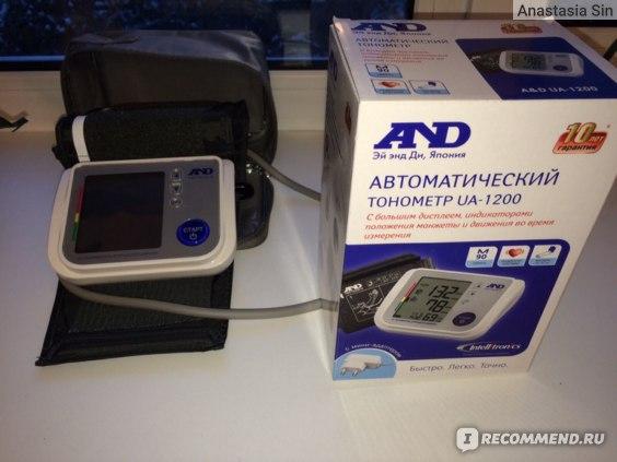 Тонометр автоматический AND UA-1200 фото