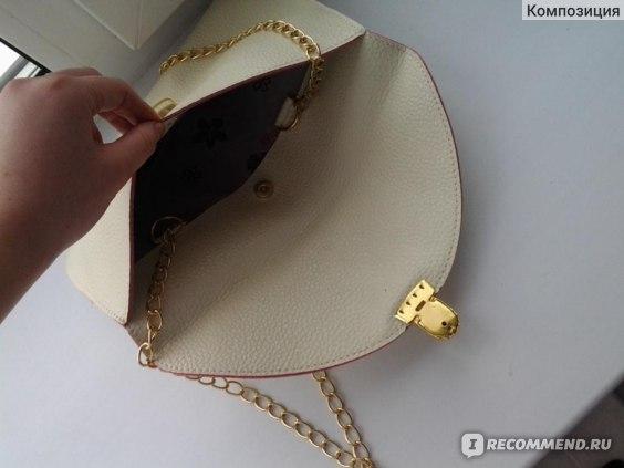 Сумка-клатч Aliexpress Envelope Clutch Chain Purse Lady Handbag Tote Shoulder Hand Bag  фото