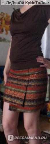 Юбка AliExpress 2014 New arrival spring and summer vintage Folk style skirt asymmetric Split skirt Pencil Skirt SMLXXXXL фото