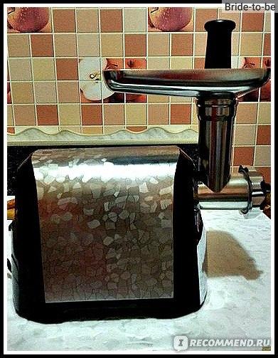 Электрическая мясорубка Polaris PMG 1810A Crystal  фото