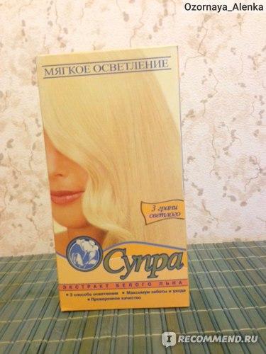Осветлитель для волос галант косметик Супра мягкое осветление фото