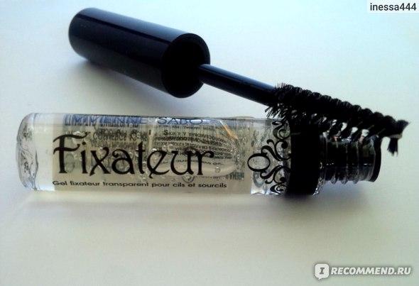 Гель для бровей и ресниц Vivienne sabo Fixateur Прозрачный Фиксирующий фото