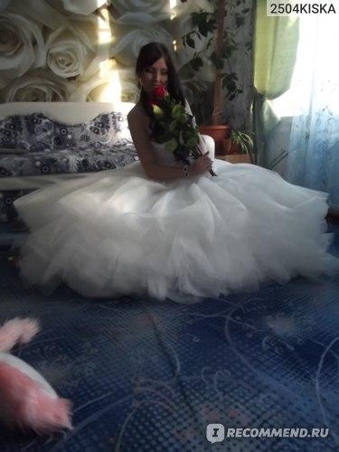 Свадебное платье AliExpress Dream 300 meters wedding dress luxury tube top heart-shaped the whole diamond train wedding dress 32 фото
