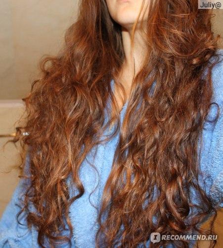 Структура моих волос