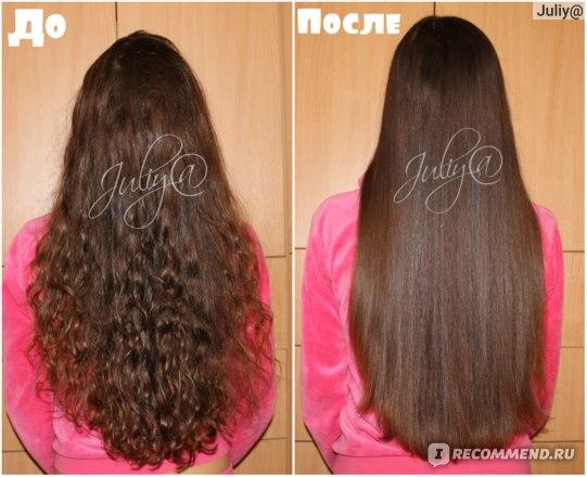ДО и ПОСЛЕ кератинового восстановления волос