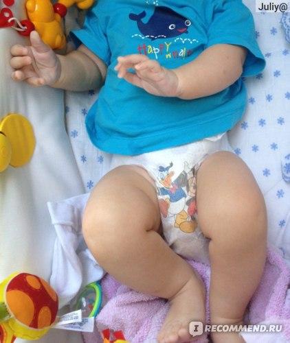 мой ребёнок в подгузниках ХАггис