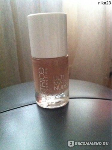 Лак для ногтей Catrice Ultimate Nudes фото