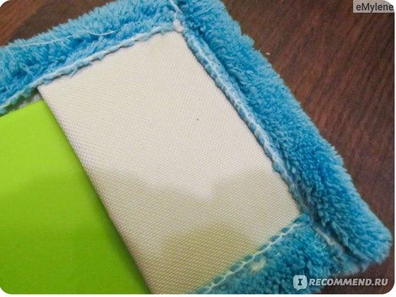 Тряпка для мытья полов из микрофибры HOME collection  Моп из микрофибры фикс прайс фото