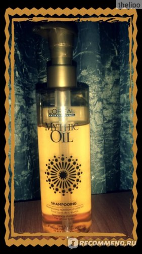 Шампунь L'Oreal Professionnel MYTHIC OIL SHAMPOO фото