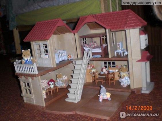 Sylvanian Families Большой дом со светом фото