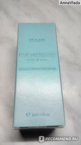 Сыворотка для лица Oriflame Мгновенного действия для совершенства кожи True Perfection фото