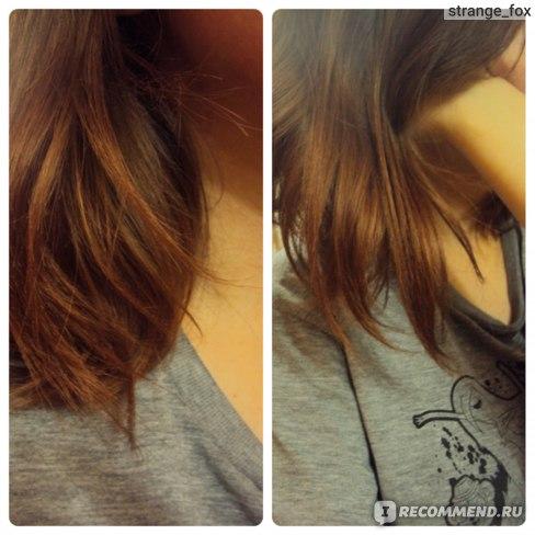 розовые волосы тоникой