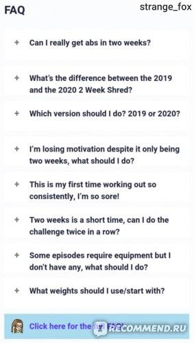 Тренировки Chloe Ting 2020 2 Weeks Shred Challenge фото