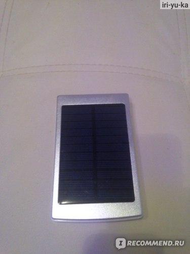 Универсальный портативный аккумулятор Aliexpress 50000mAh Dual USB Solar Power Panel Portable Solar Charger External Battery Charger Solar Battery Bank For iphone Promotion фото