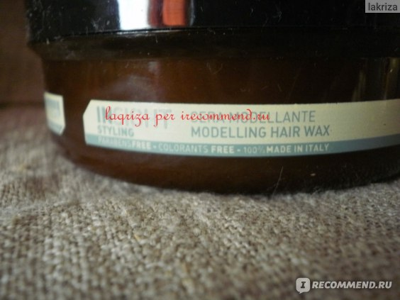 Воск для волос Insight Styling Modelling Hair Wax / Моделирующий фото