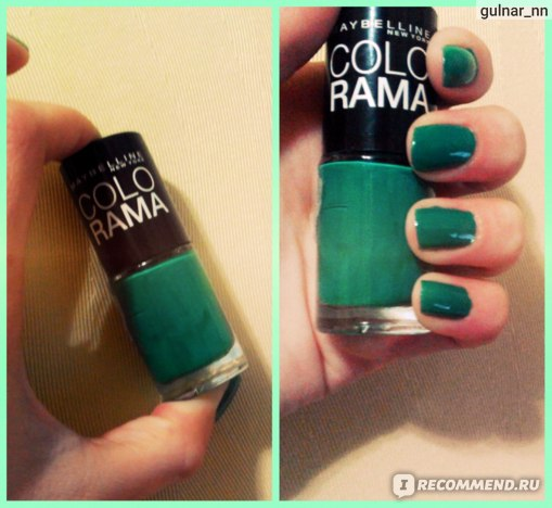 Лак для ногтей MAYBELLINE Colorama New York фото