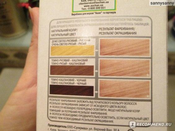Стойкая крем-краска для волос Каждый день  фото