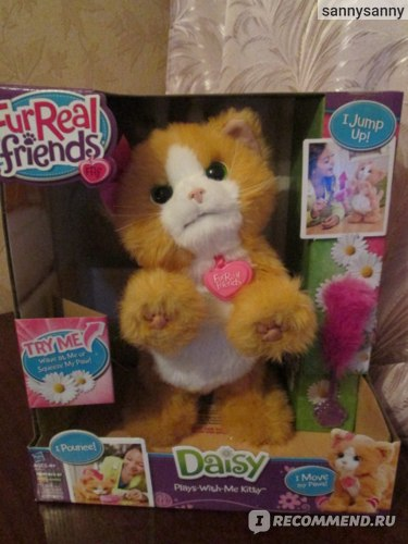 Hasbro FurReal friends игривый котенок Дейзи фото