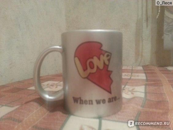 Чашки для влюбленных Vsemayki.ru Love is фото