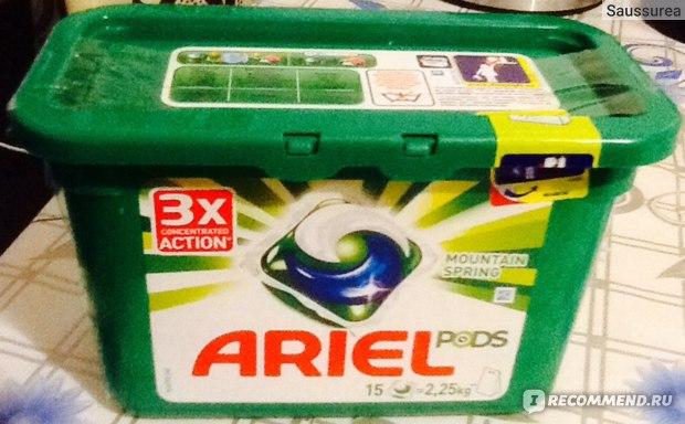 Средство для стирки Ariel PODS фото