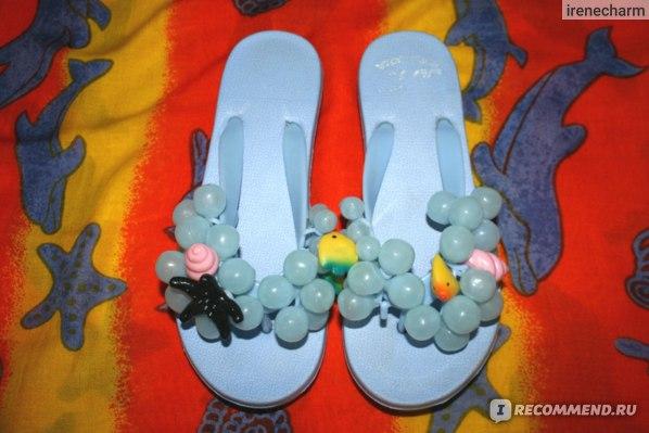 Шлепанцы TAOBAO Виноград фото