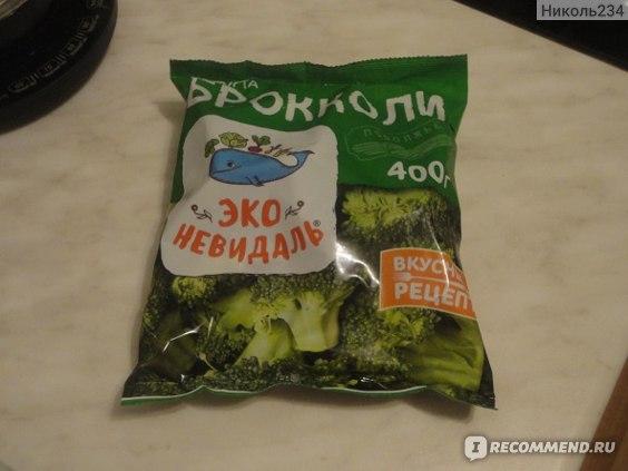 Капуста брокколи быстрозамороженная ЭКО-НЕВИДАЛЬ фасованная фото