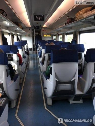 """Высокоскоростной поезд """"Стриж"""" фото"""