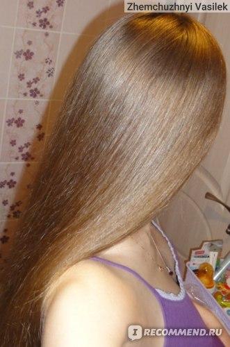 Волосики после шампуня, бальзама и ополаскивания травами