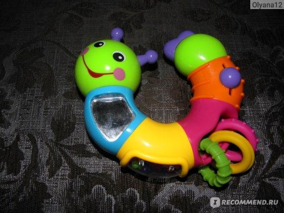 Joy Toy Веселая гусеница фото