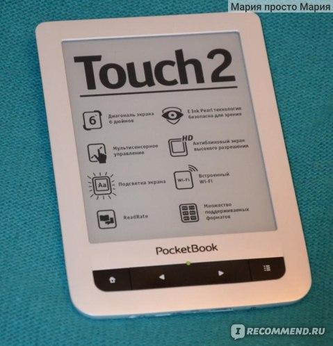 Электронная книга PocketBook 623 Touch 2 фото