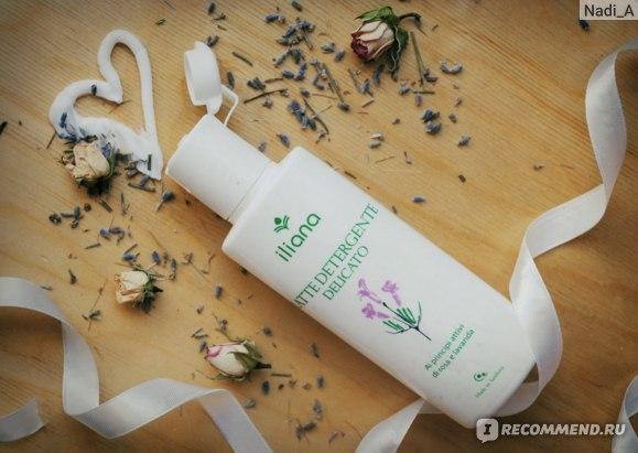 Молочко для лица очищающее Iliana Лаванда и Роза фото