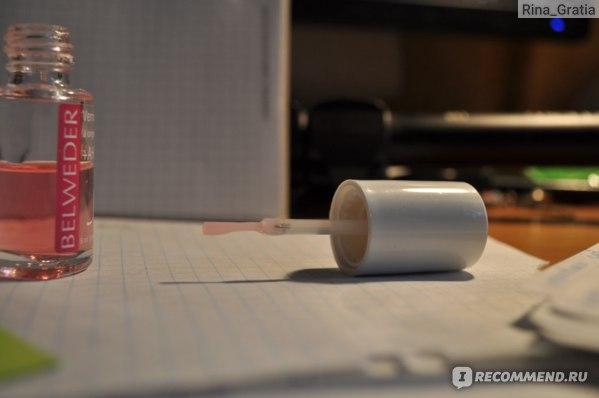 Лак для ногтей Belweder для расслаивающихся ногтей с фруктовыми кислотами фото