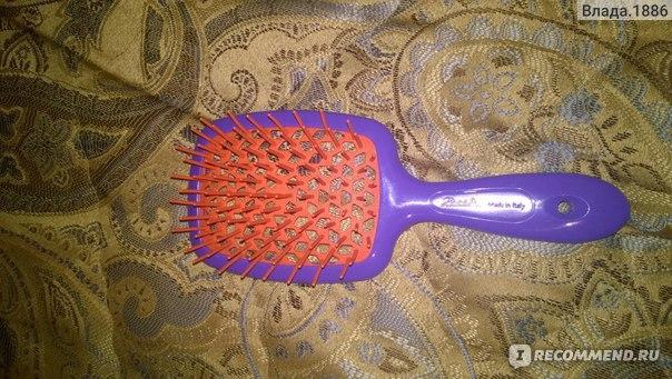 Щетка для волос пластиковая Janeke Superbrush 93sp226 The original italian patent фото