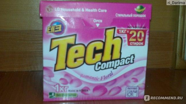 Порошок стиральный концентрированный  LG  Tech compact фото