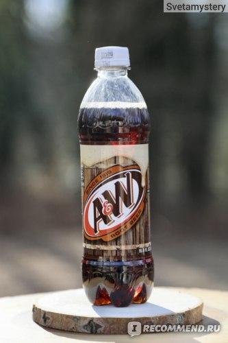 Газированная вода A&W Root Beer Aged Vanilla фото