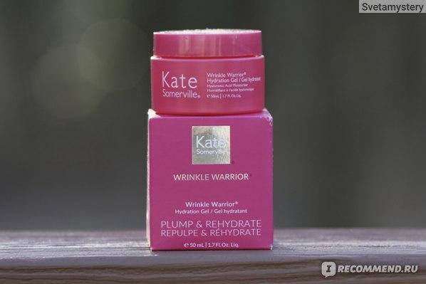 Крем-гель для лица Kate Somerville Wrinkle Warrior Hydration Gel фото