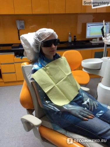 Профессиональная чистка зубов фото