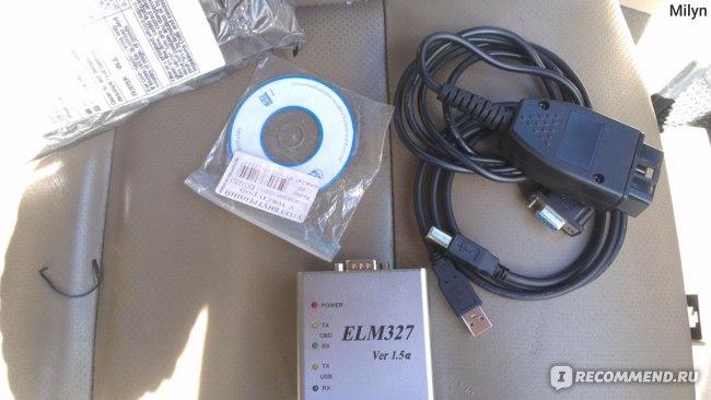 Товары для автомобиля  ELM327 Ver 1.5a CAN-BUS USB-сканер OBD-II фото