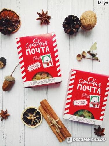 """Леденцы монпансье Фабрика счастья новогоднее """"Сладкая почта""""  фото"""