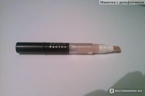 Max Factor Mastertouch Concealer Ivory 303 не для белой кожи +состав и фото