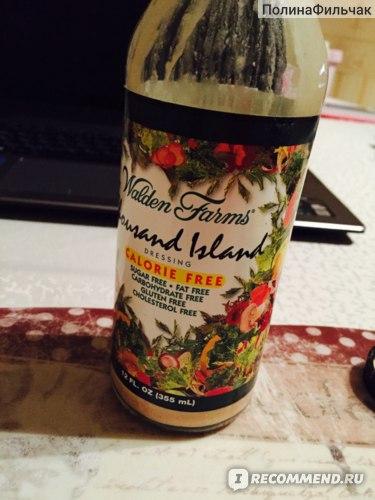 Соус Walden Farms  Thousand Island,Calorie Free фото